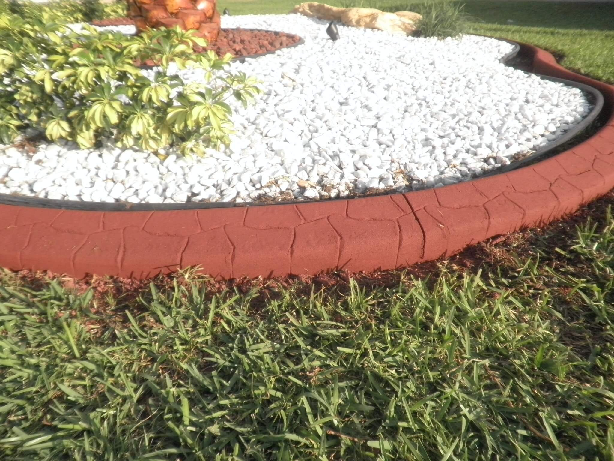 Lake Worth decorative curbing machine