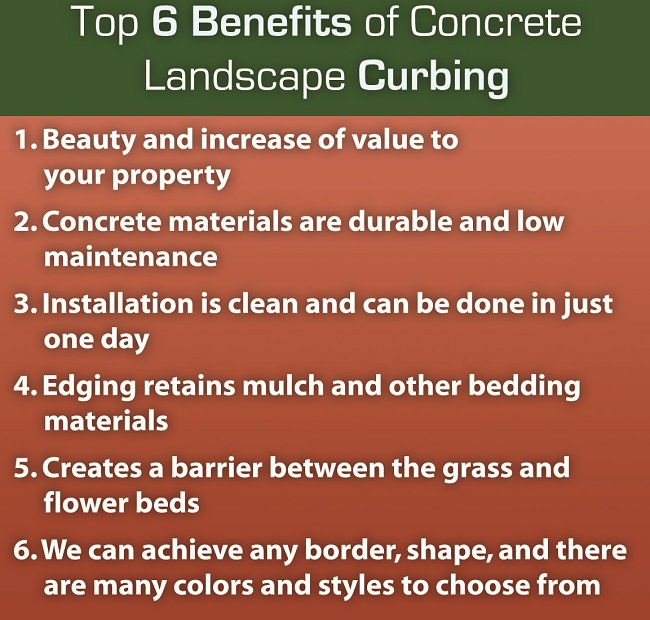 Bennefits of curbing